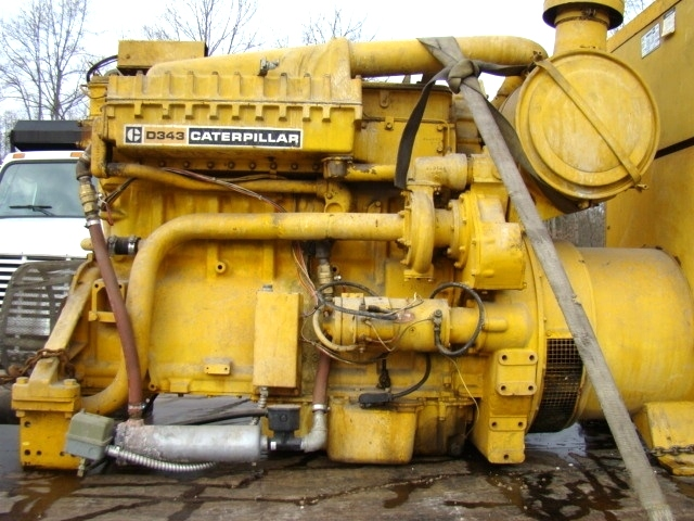 CATERPILLAR STAND BY DIESEL GENERATOR 230 KW FOR SALE  Generators