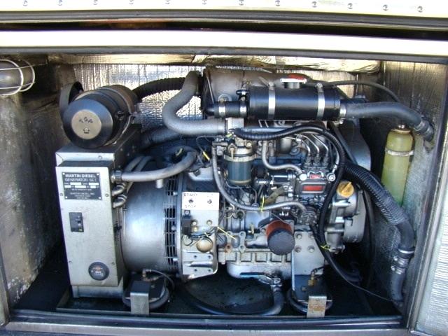 USED PREVOST BUS GENERATOR FOR SALE 15KW DIESEL - COMPLETE  Generators