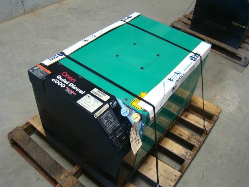 Rv Diesel Generator >> Generators Onan 8000 Quite Diesel Generator Rv Motorhome Rv