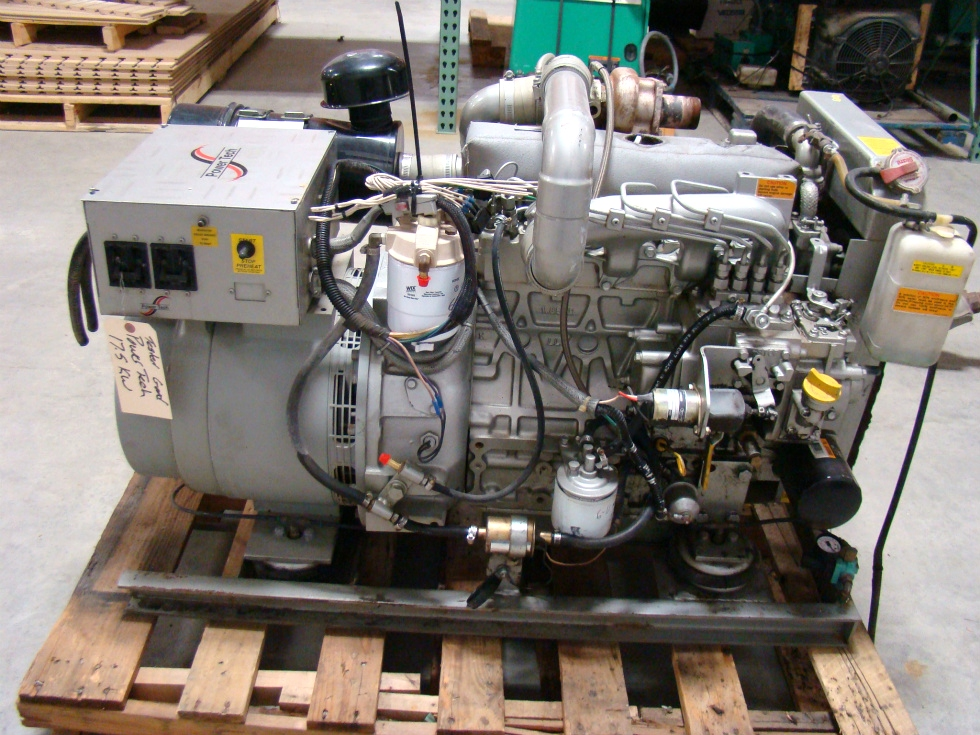 USED BUS GENERATOR 17.5 KW POWER TECH DIESEL GENERATOR FOR SALE  Generators