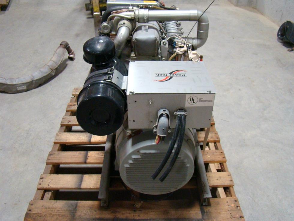USED BUS GENERATOR 17.5 KW POWER TECH DIESEL GENERATOR FOR SALE  Generators
