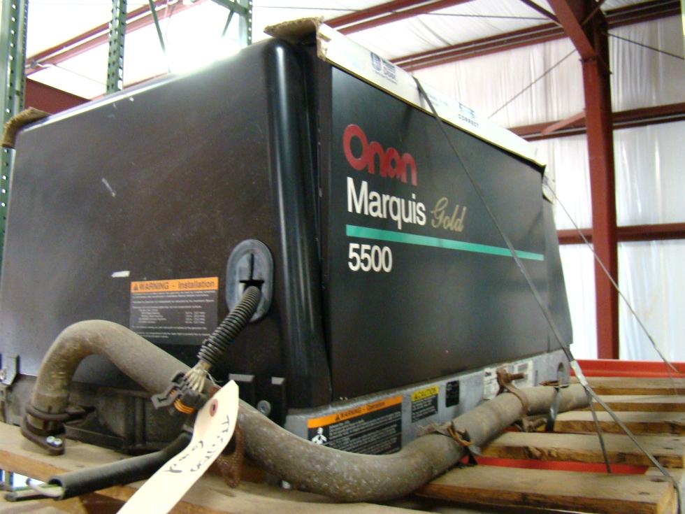 USED ONAN GAS GENERATOR 5500 MARQUIS GOLD  Generators