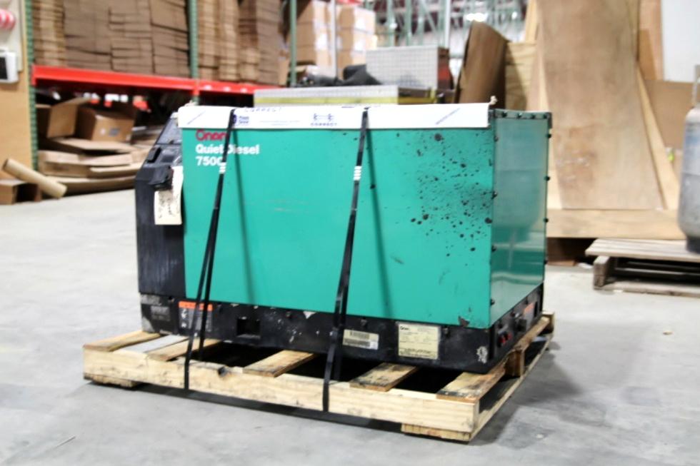 ONAN CUMMINS DIESEL GENERATOR FOR SALE 7500 QUIET Generators