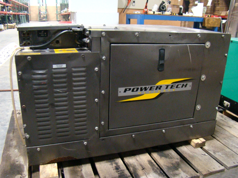 POWER TECH 8000 KW DIESEL GENERATOR ( SOLD ) RV/BUS/MOTORHOME PARTS Generators