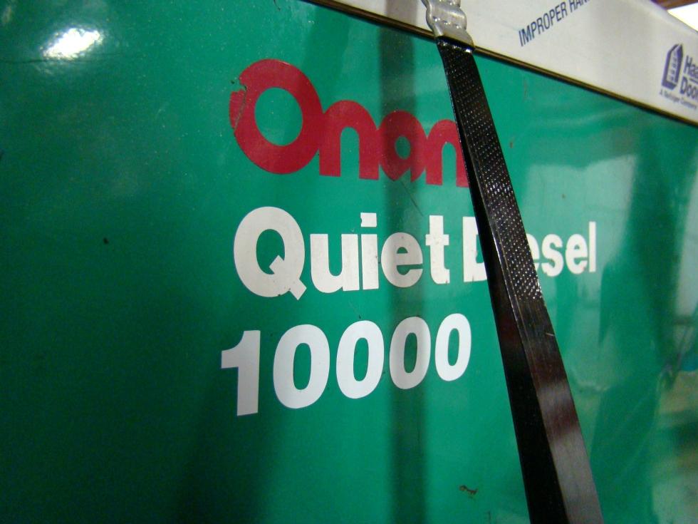 ONAN 10000 DIESEL GENERATOR QUIET FOR SALE RV / MOTORHOME GENERATORS - VISONE RV Generators