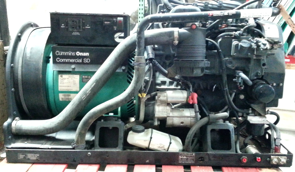 ONAN CUMMINS 20KW COMMERCIAL SD DIESEL GENERATOR FOR SALE Generators
