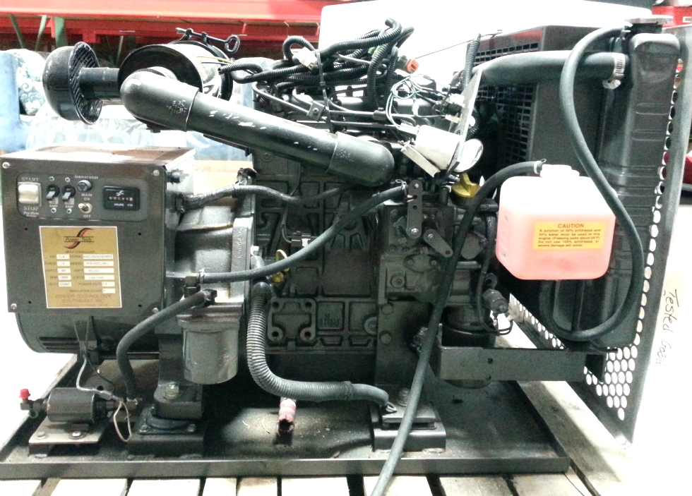 POWER TECH 7.8 KW DIESEL GENERATOR FOR SALE BUS / MOTORHOME Generators