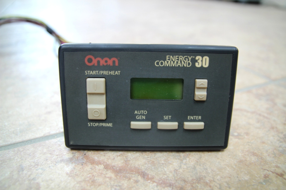 Generators Used Rv  Motorhome Onan Energy Command 30 Pn  018