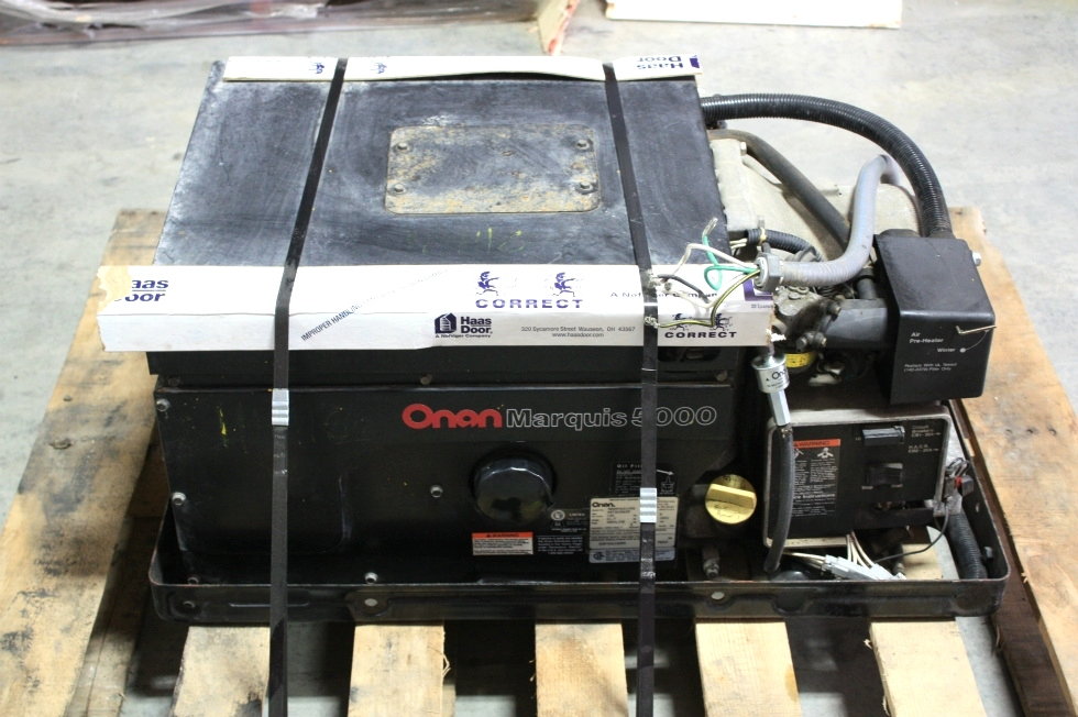ONAN GAS MARQUIS 5000 GENERATOR FOR SALE Generators