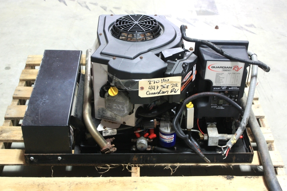 USED GUARDIAN RV 66G GAS GENERATOR FOR SALE Generators