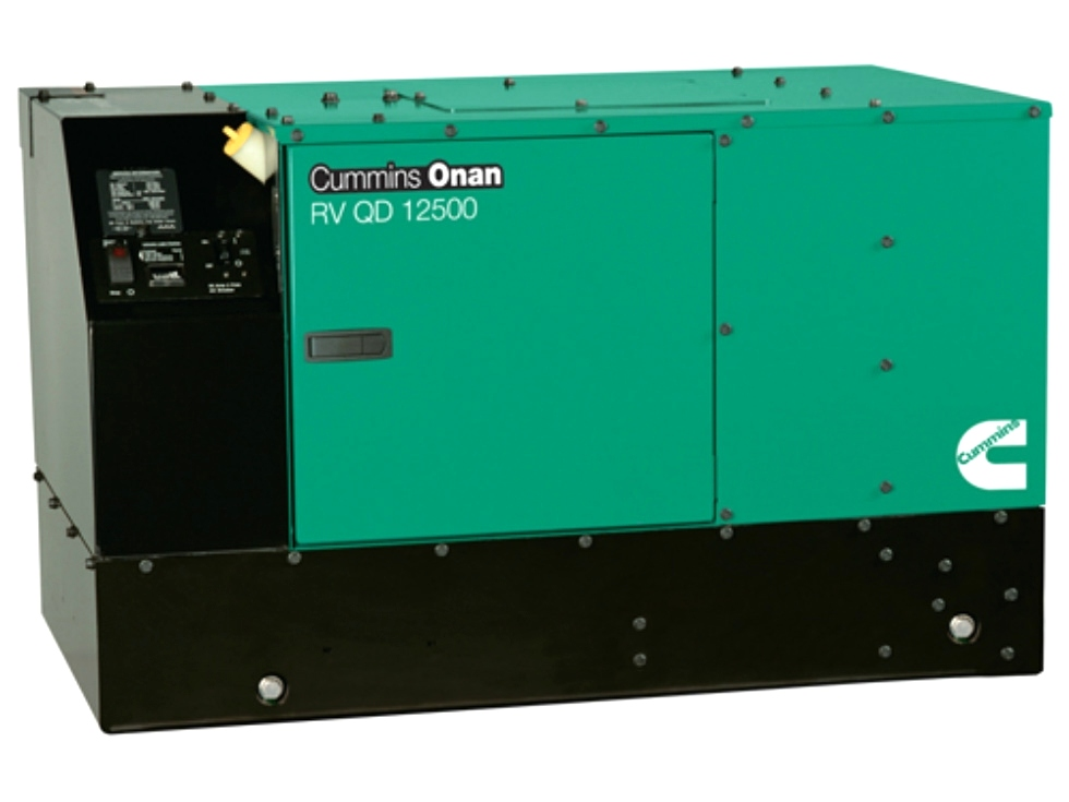 CUMMINS ONAN QD 12.5 DIESEL MOTORHOME GENERATOR FOR SALE Generators