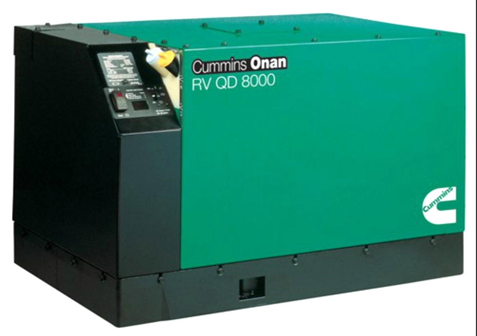 CUMMINS ONAN RV QD 8000 QUIET DIESEL 8.0 GENERATOR FOR SALE Generators