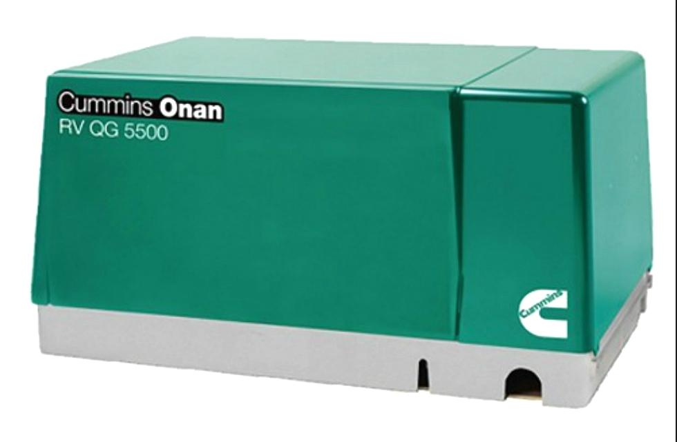 CUMMINS ONAN RV QG 5500 GASOLINE MARQUIS GOLD MOTORHOME GENERATOR FOR SALE Generators