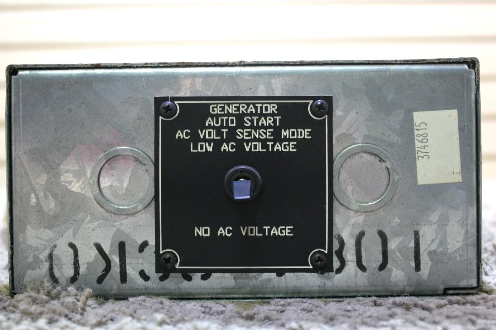 USED MOTORHOME GENCON MODEL: 9232 GENERATOR AUTO START FOR SALE Generators