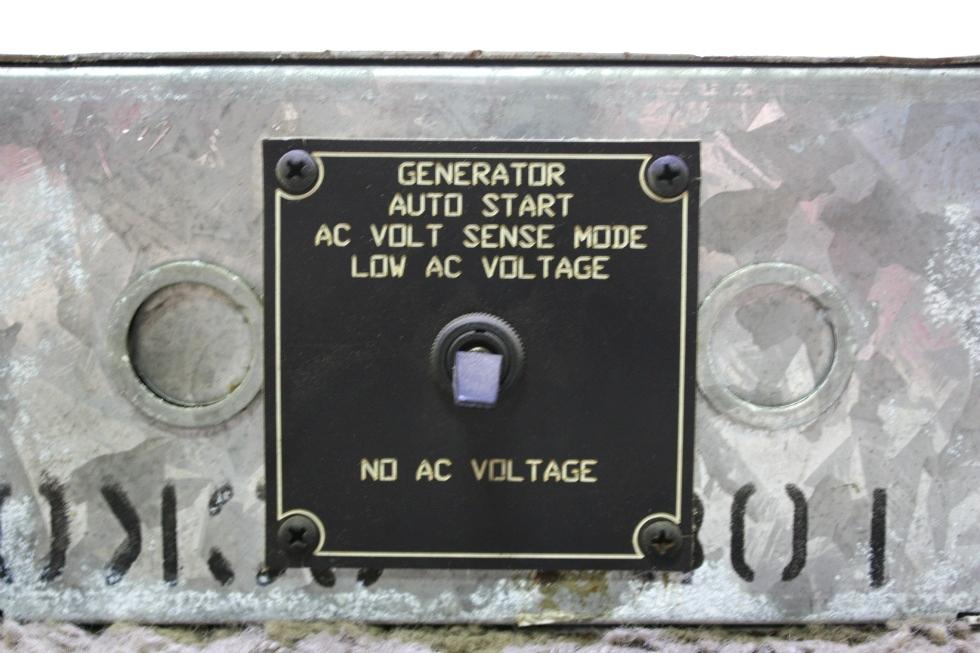 USED GENERATOR AUTO START GENCON MODEL: 9232 MOTORHOME PARTS FOR SALE Generators