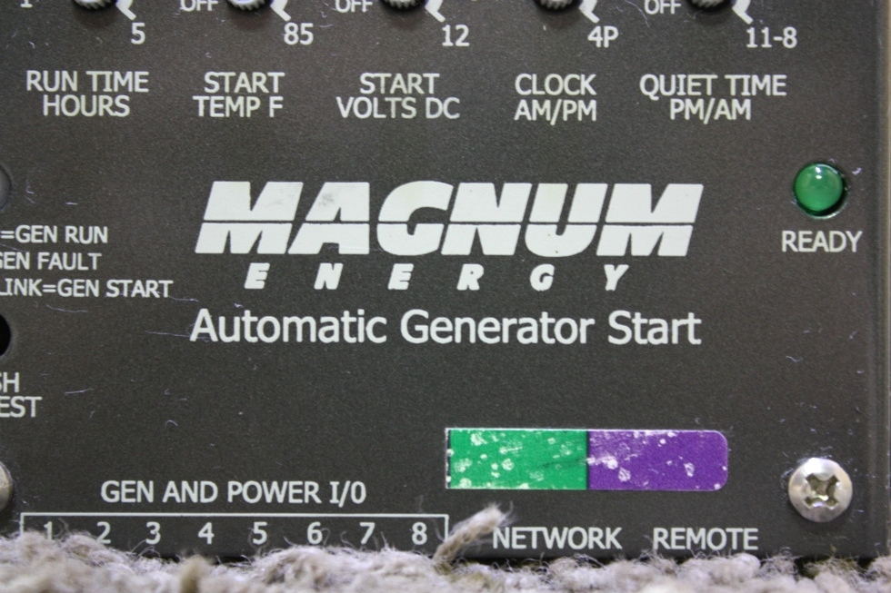 USED RV MAGNUM ENERGY AUTOMATIC GENERATOR START FOR SALE Generators