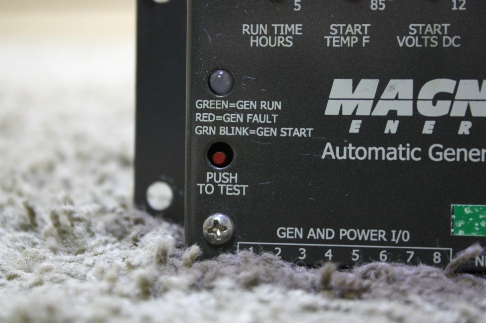 USED RV MAGNUM ENERGY AUTOMATIC GENERATOR START FOR SALE Generators