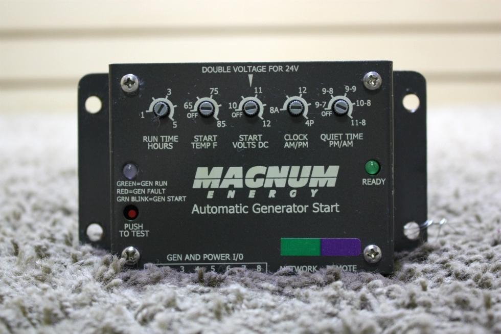 USED MOTORHOME MAGNUM ENERGY AUTOMATIC GENERATOR START FOR SALE Generators