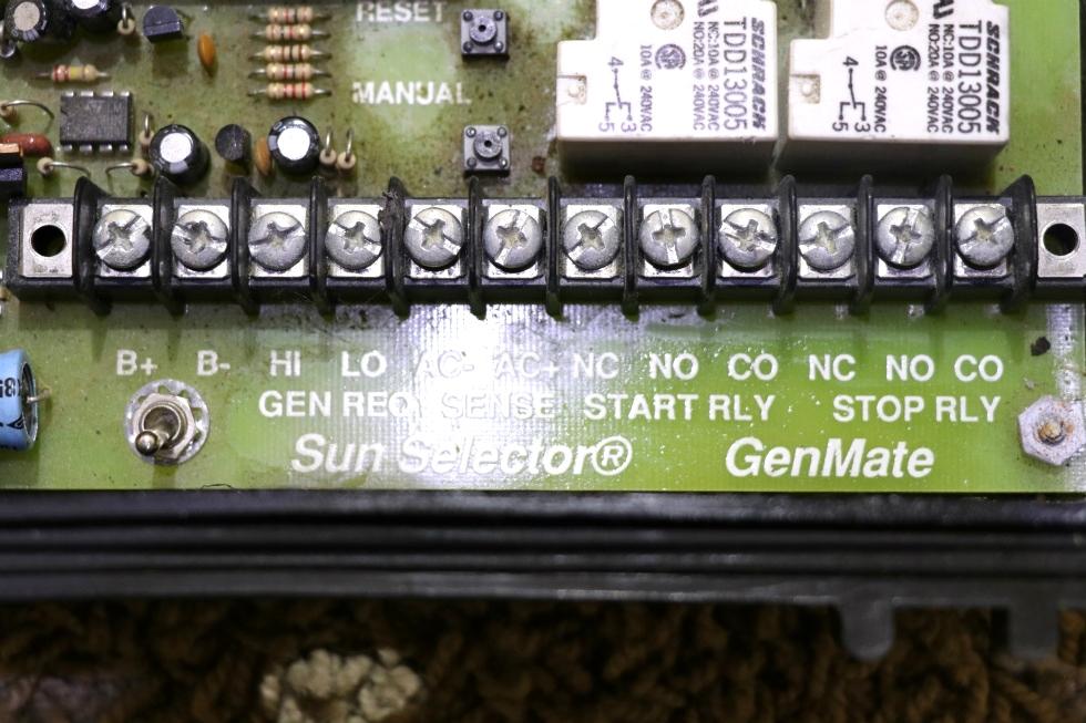 USED MOTORHOME SUN SELECTOR GENMATE GENERATOR START #9030 FOR SALE Generators