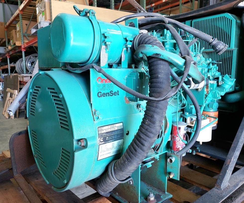 USED ONAN 7.5RV GENSET GENERATOR 7.5DKDFJ MOTORHOME GENERATOR FOR SALE Generators