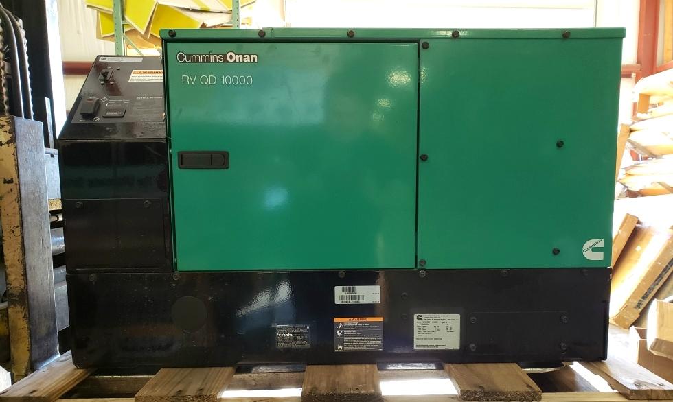 CUMMINS ONAN RV QD 10000 USED MOTORHOME 10HDKCA-11608G GENERATOR FOR SALE Generators