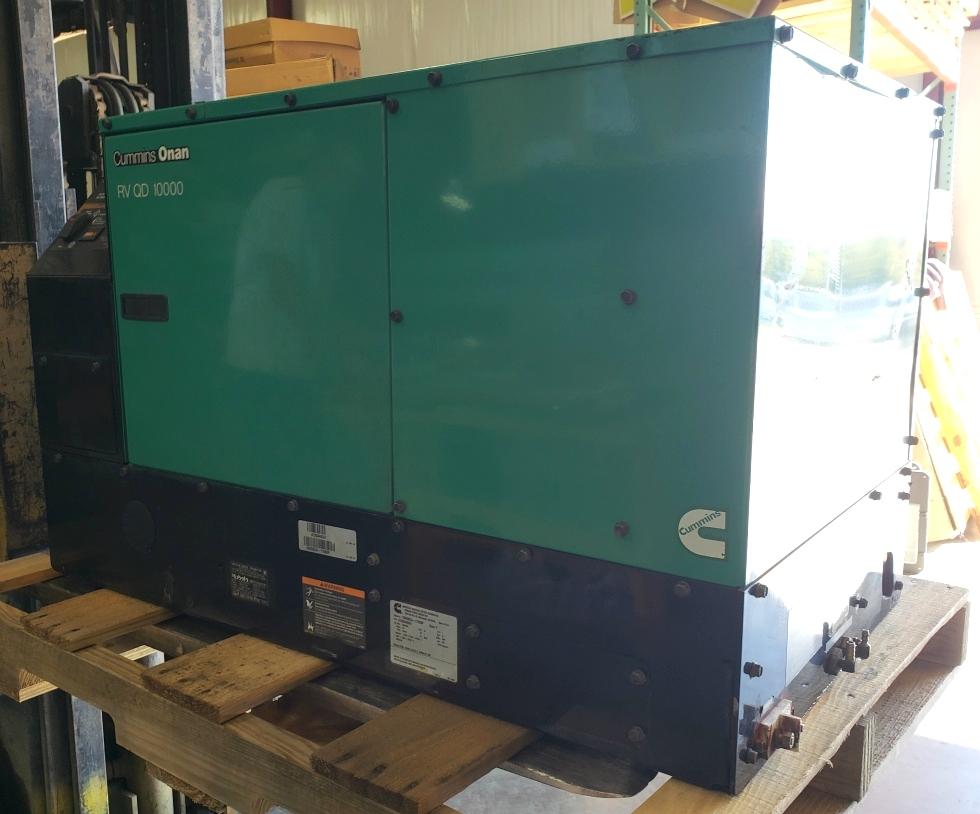 10HDKCA-11608F USED CUMMINS ONAN RV QD 10000 GENERATOR RV DIESEL GENERATORS FOR SALE Generators