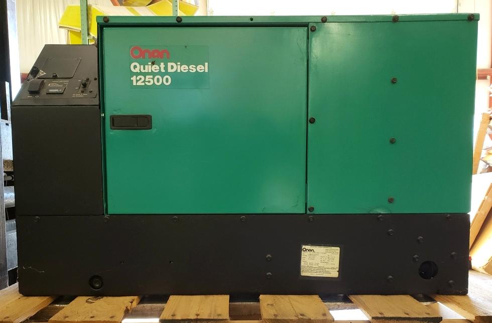 ONAN QUIET DIESEL 12500 USED MOTORHOME 12.5HDCAB/11506A GENERATOR RV PARTS FOR SALE Generators