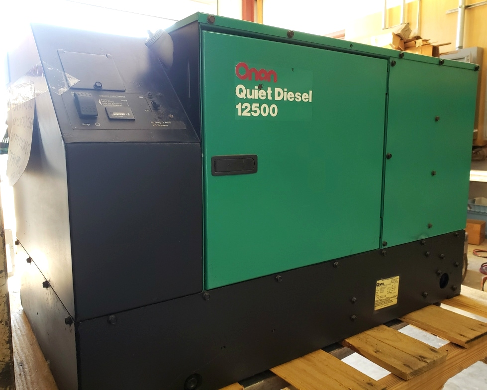 ONAN QUIET DIESEL 12500 USED MOTORHOME 12.5HDCAB/11506A GENERATOR RV PARTS FOR SALE Generators