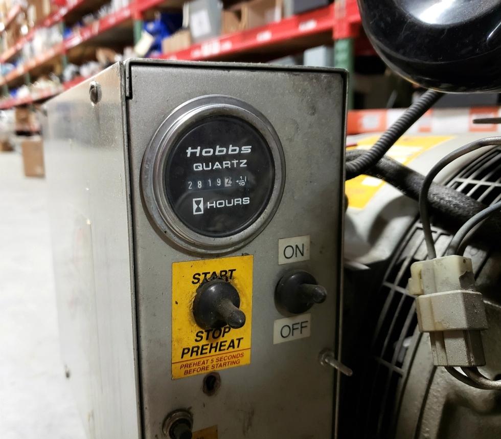 USED POWER TECH 17.5 KW DIESEL GENERATOR MOTORHOME/BUS GENERATORS FOR SALE Generators