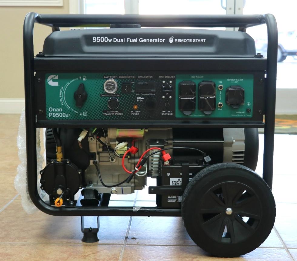 CUMMINS ONAN P9500df DUAL FUEL (GAS/LPG) PORTABLE GENERATOR FOR SALE Generators