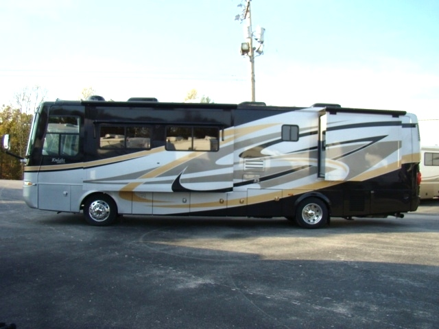2008 MONACO KNIGHT MOTORHOME MODEL 38PDQ PARTING OUT  RV Exterior Body Panels