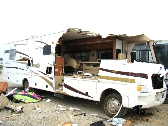 Salvage Yards In Wv >> Rv Exterior Body Panels 2007 Damon Daybreak Used Motorhome