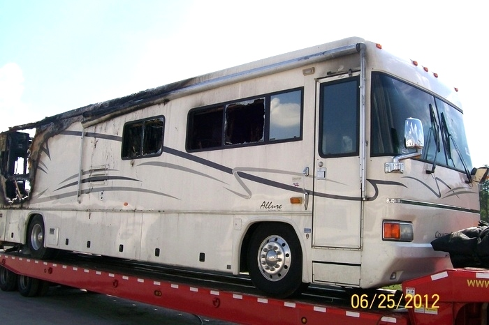 USED MOTORHOME PARTS 2001 COUNTRY COACH ALLURE PARTS  RV Exterior Body Panels