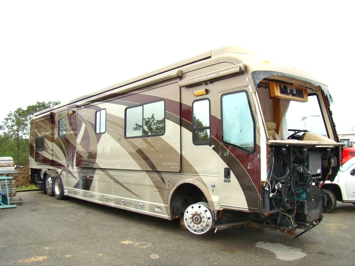 2007 COUNTRY COACH MAGNA 630 PARTS = RV SALVAGE FOR SALE  RV Exterior Body Panels