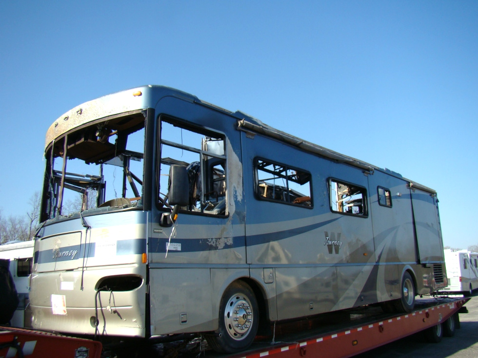 WINNEBAGO RV PARTS 2004 JOURNEY MOTORHOME USED SALVAGE PARTS FOR SALE RV Exterior Body Panels