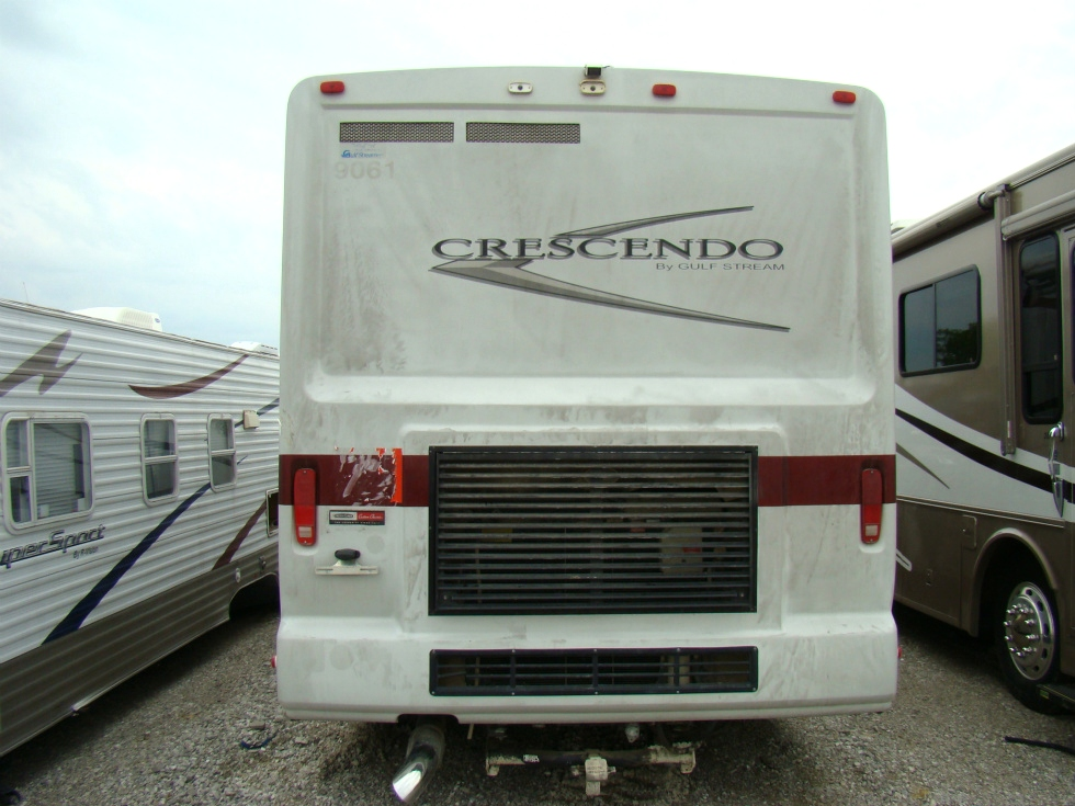 USED MOTORHOME SALVAGE - 2004 GULF STREAM CRESCENDO PART / RV PARTS RV Exterior Body Panels