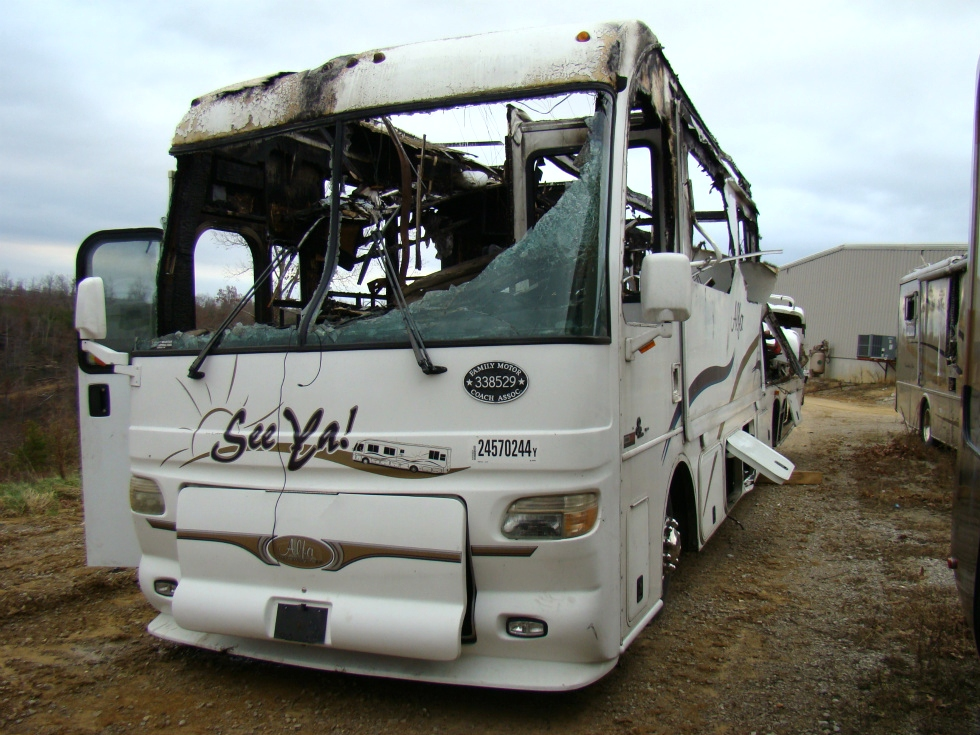USED RV MOTORHOME PARTS- SALVAGE - 2004 ALFA SEE YA PART FOR SALE BY VISONE RV  RV Exterior Body Panels