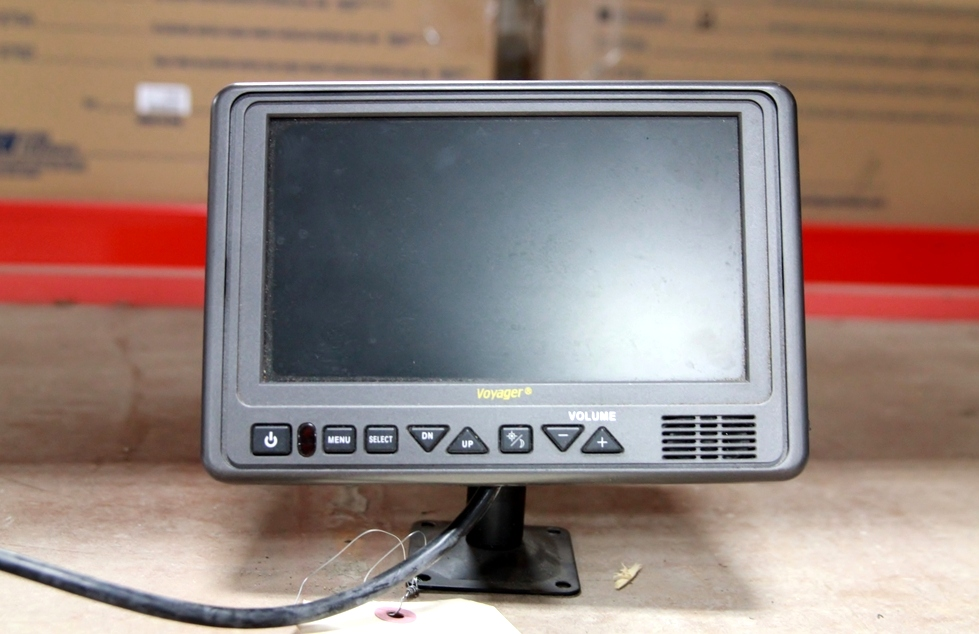USED VOYAGER 7 INCH LCD COLOR RV/MOTORHOME MONITOR MODEL: AOM711 RV Electronics