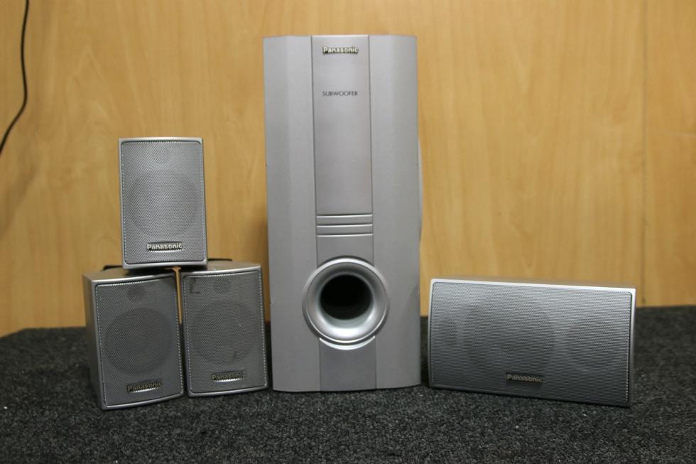 USED RV OR HOME AUDIO PANASONIC 5 PIECE SURROUND SOUND SYSTEM RV Electronics