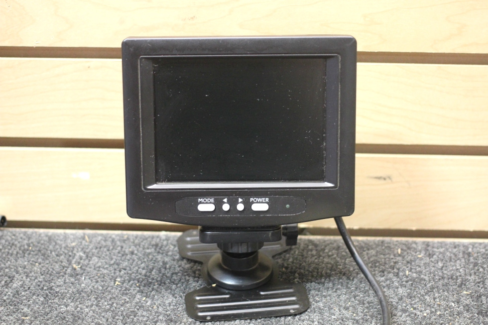 USED RV BACKUP LCD MONITOR  MODEL: CH-LCD-56DHB SIZE: 5.6 IN. RV Electronics