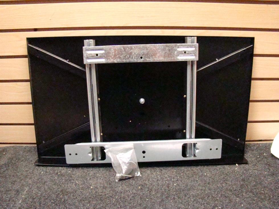 NEW BLACK T.V. MOUNT SIZE: 14 5/8X25 1/2  P/N:815.370-L067 SH9005  RV Electronics