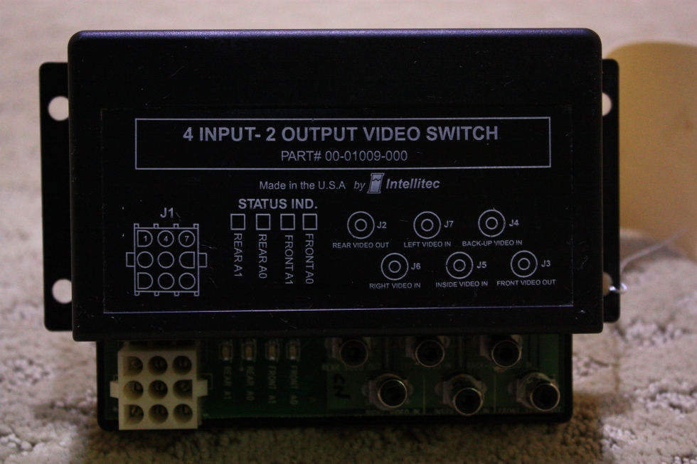 USED 4 INPUT - 2 OUTPUT VIDEO SWITCH 00-01009-000 FOR SALE  **OUT OF STOCK** RV Electronics