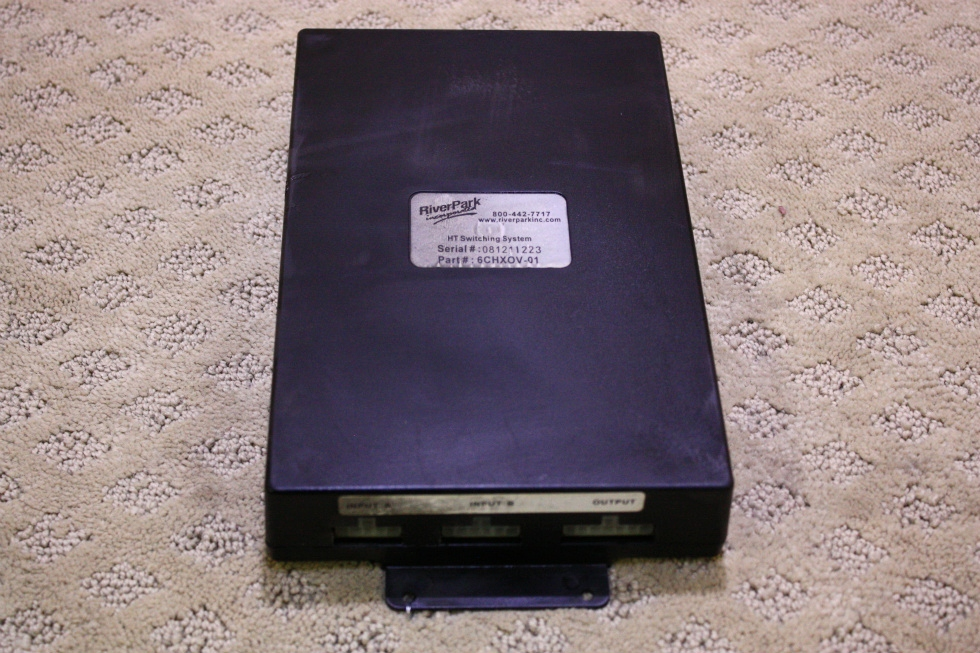 USED 6CHXOV-01 RIVERPARK HT SWITCHING SYSTEM FOR SALE RV Electronics