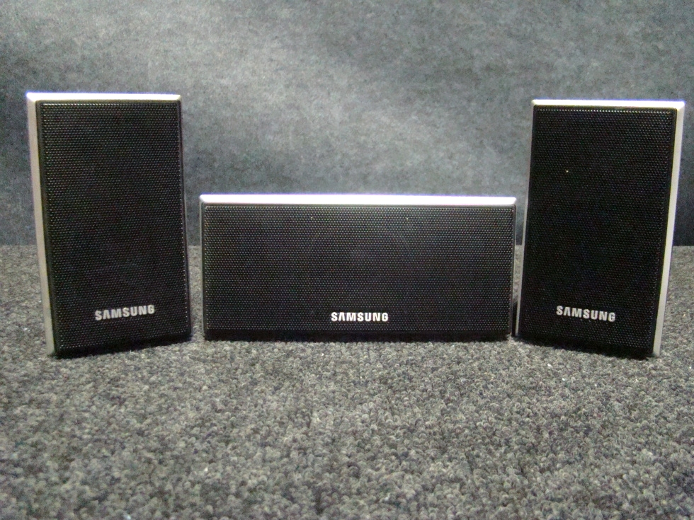 USED RV/MOTORHOME 3 PC. SAMSUNG SPEAKER SET (BLACK) FOR SALE RV Electronics
