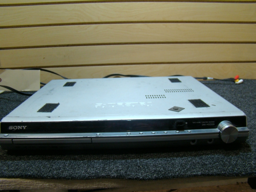 USED RV/MOTORHOME SONY DVD HOME THEATER SYSTEM FOR SALE RV Electronics