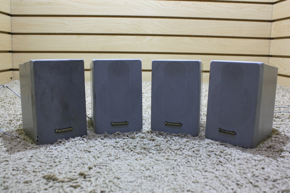 USED SET OF 4 PANASONIC SPEAKERS FOR SALE RV Electronics