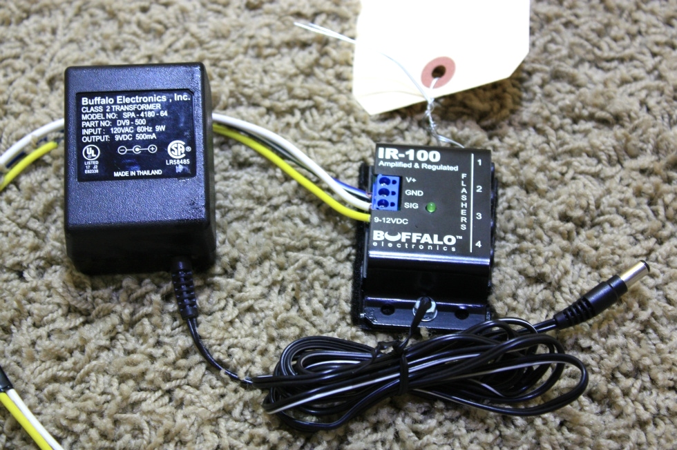 USED RV PARTS BUFFALO ELECTRONICS AMPLIFIED & REGULATED FOR SALE RV Electronics