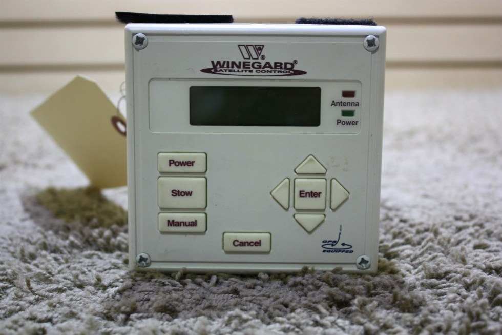 USED RV WINEGARD SATELLITE CONTROL TOUCH PAD FOR SALE RV Electronics