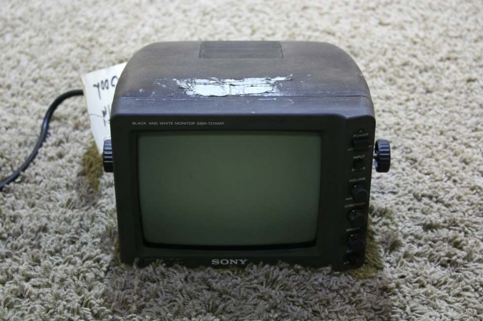 USED SSM-721AMR SONY BLACK AND WHITE MONITOR RV ELECTRONICS FOR SALE RV Electronics