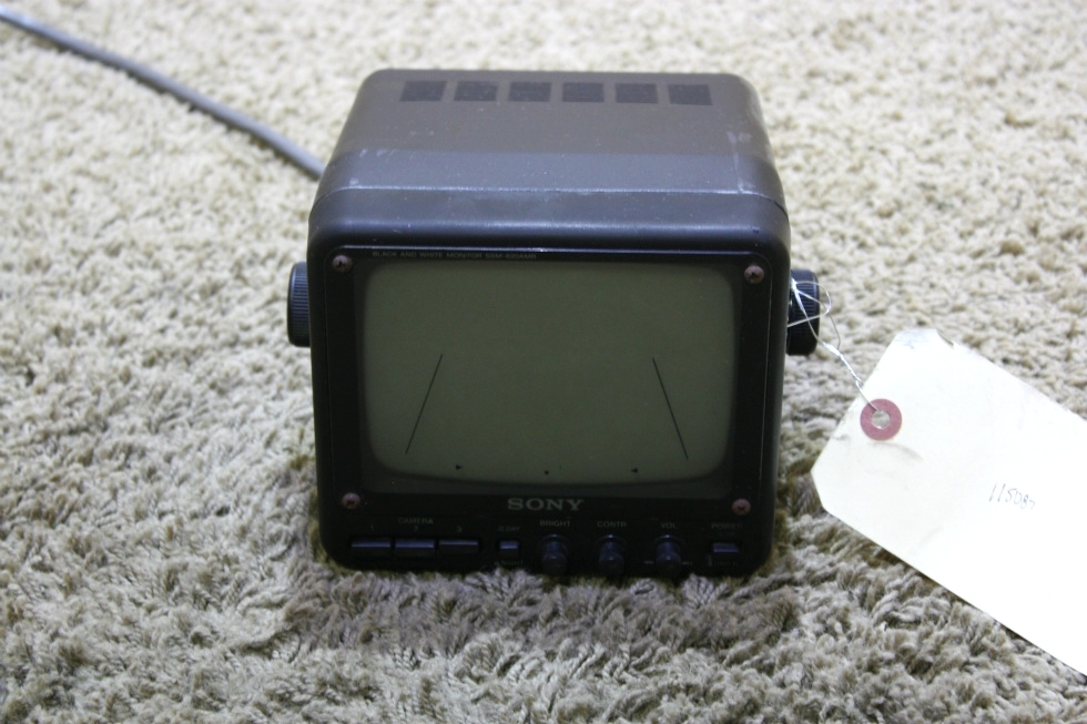 USED MOTORHOME SONY BLACK & WHITE SSM-620AM MONITOR FOR SALE RV Electronics
